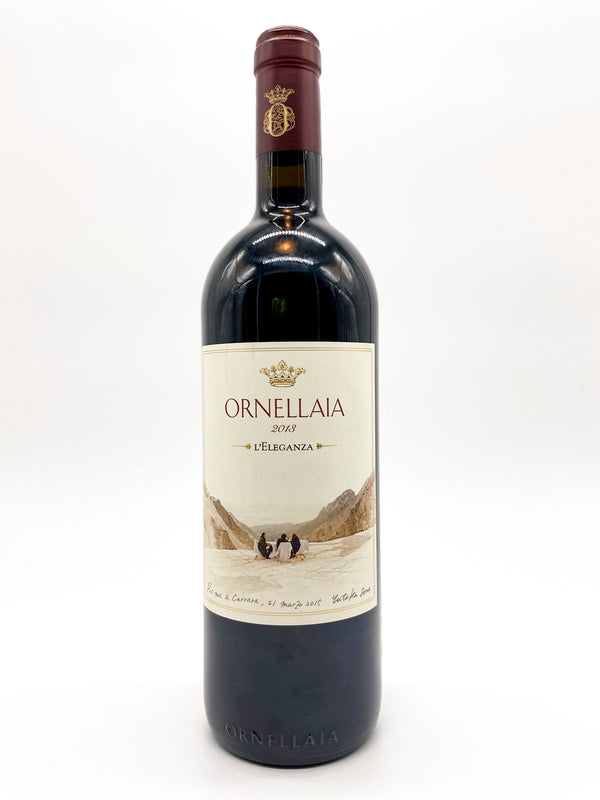 Ornellaia Bolgheri Superiore L'Eleganza Artist Label 2013 750mL