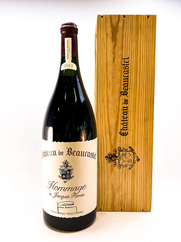 Beaucastel Hommage A Jacques Perrin 2012 3.0L OWC