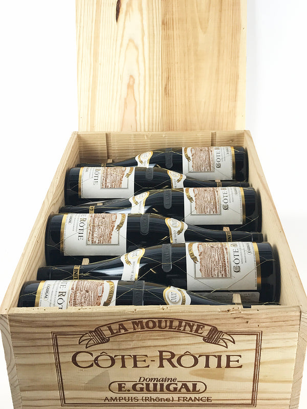 Guigal La Mouline 2010 12-Pack OWC 750mL