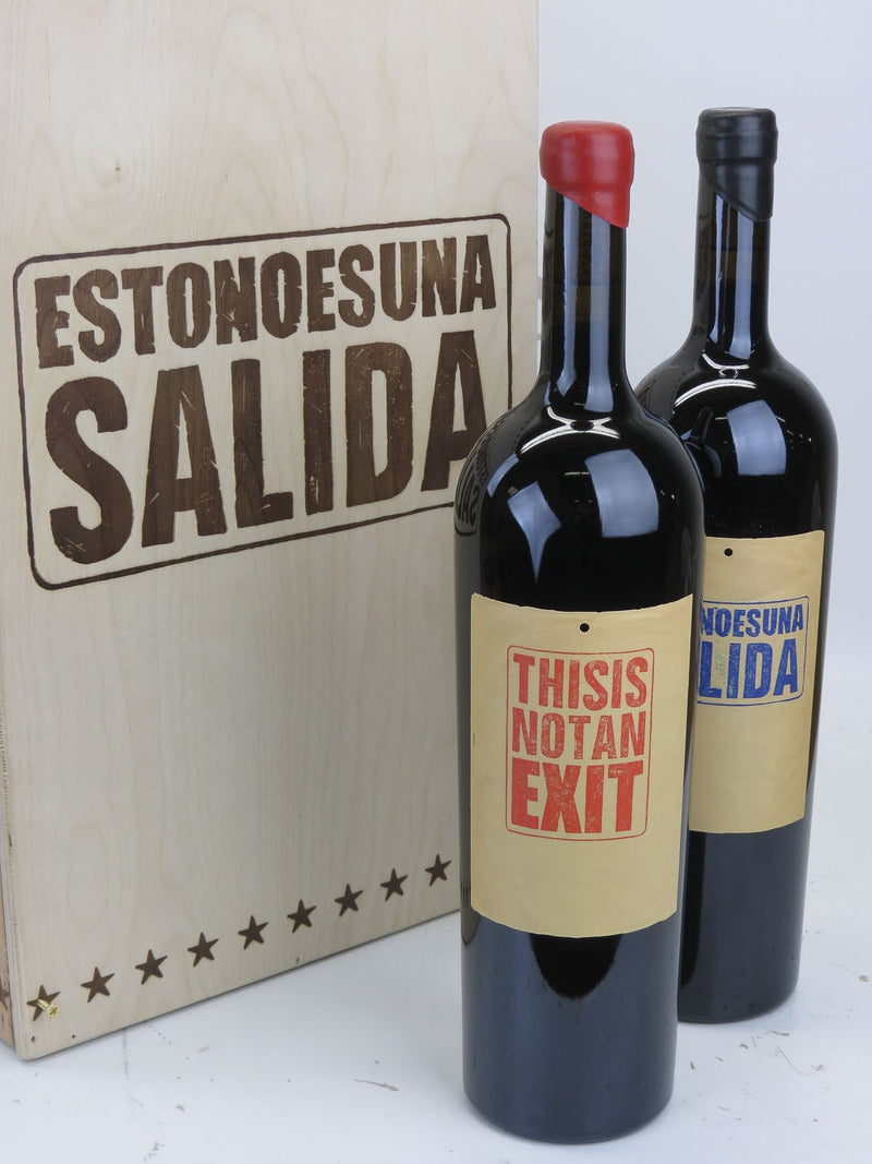 "Sine Qua Non -SQN- Eleven Confessions This is Not An Exit ""Grenache/Syrah"" 2009 2-Pack OWC 1.5L"