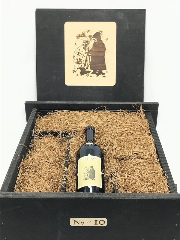 "Sine Qua Non -SQN- Next of Kyn Collector ""Cumulus Vineyard - 3 bottles & 1 Magnum"" 2016 4-Pack OWC"