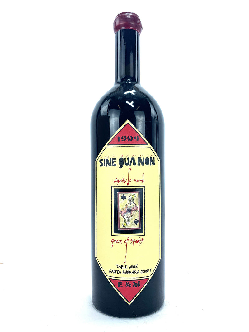 Sine Qua Non -SQN- Queen of Spades 1994 750mL
