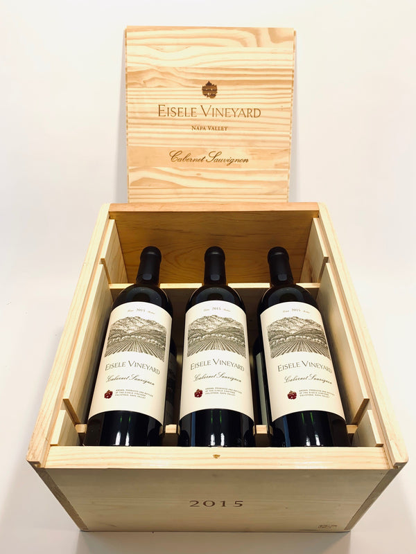 Eisele Vineyard Cabernet Sauvignon 2015 6-Pack OWC 750mL