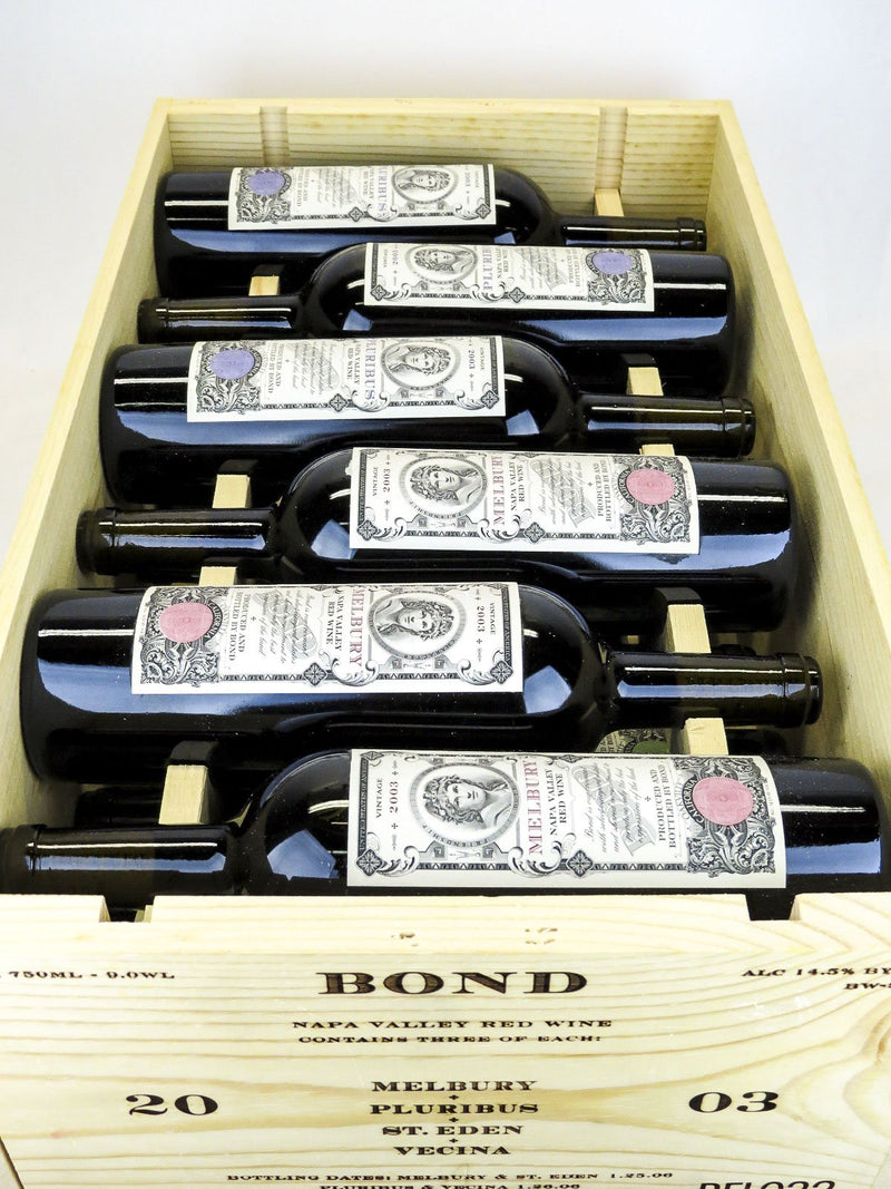 Bond Assortment Case 2003 12-Pack OWC 750mL