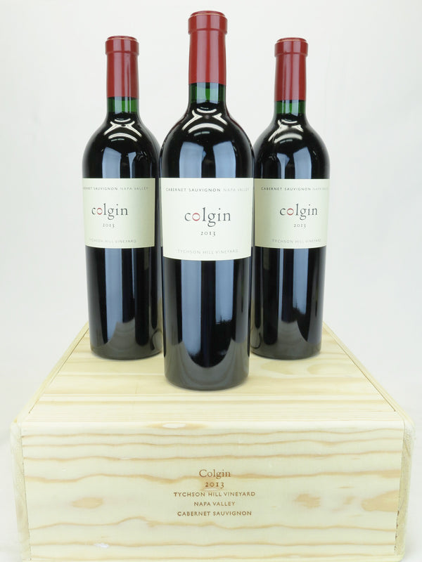 Colgin Tychson Hill 2013 3-Pack OWC 750mL