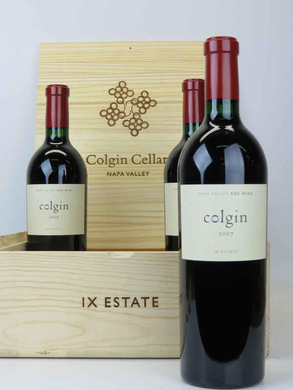 Colgin IX Estate 2007 3-Pack OWC 750mL