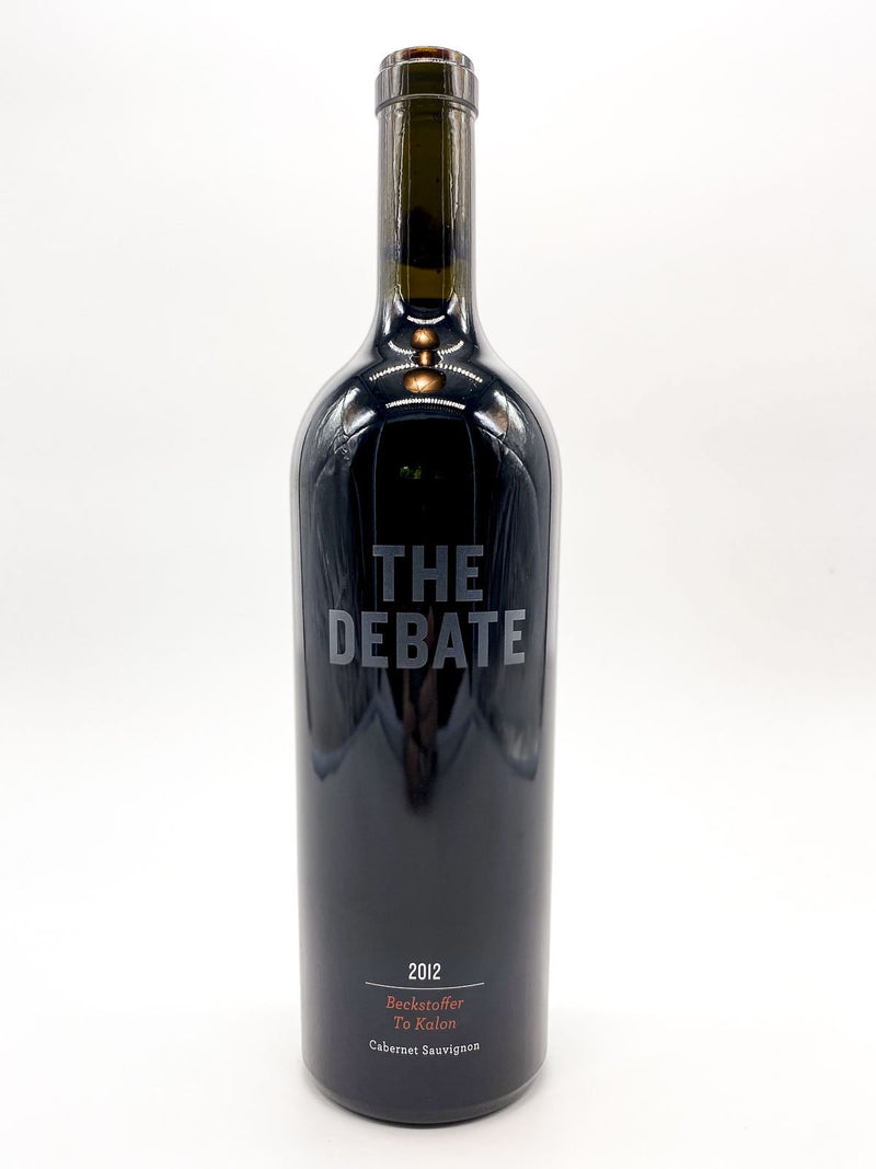 The Debate Beckstoffer To Kalon Cabernet Sauvignon 2012 750mL
