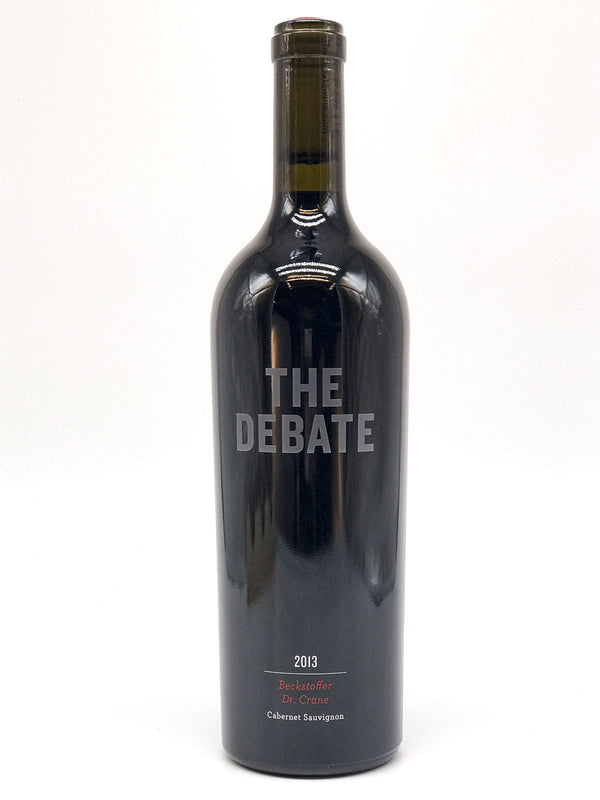 The Debate Beckstoffer Dr. Crane Cabernet Sauvignon 2013 750mL