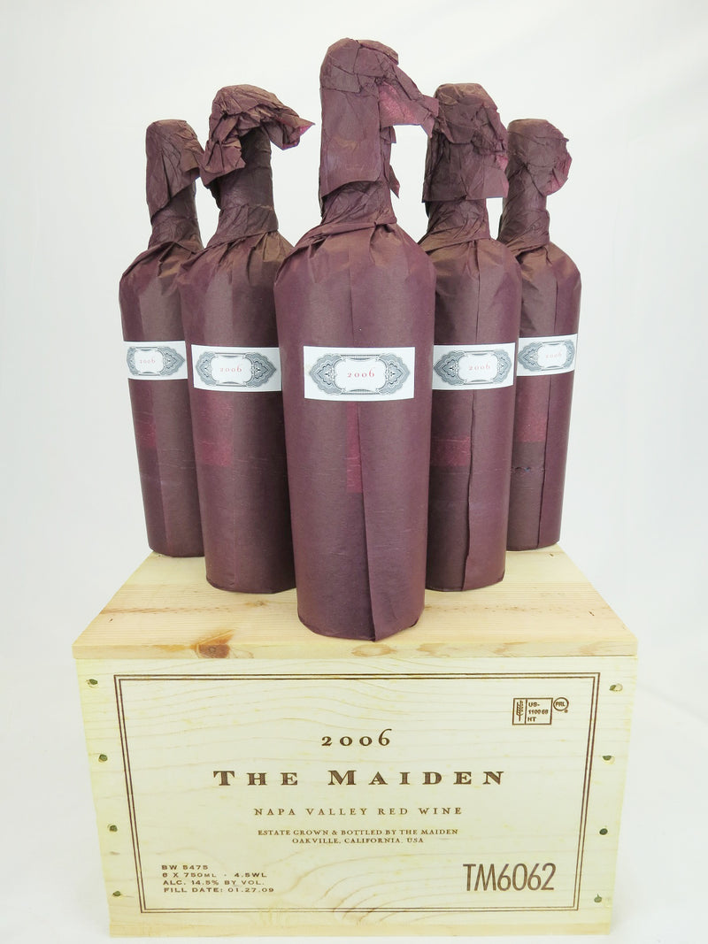 Harlan Maiden 2006 6-Pack OWC 750mL