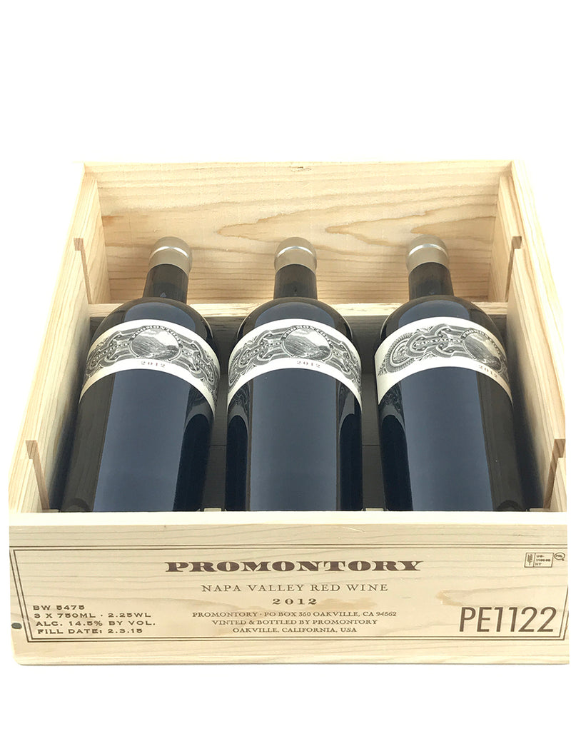 Promontory Proprietary Red 2012 3-Pack OWC 750mL