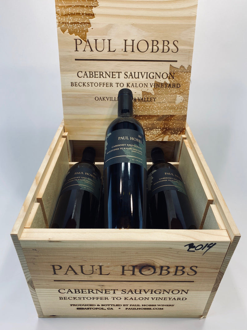 Paul Hobbs Beckstoffer To Kalon Cabernet Sauvignon 2014 6-Pack OWC 750mL