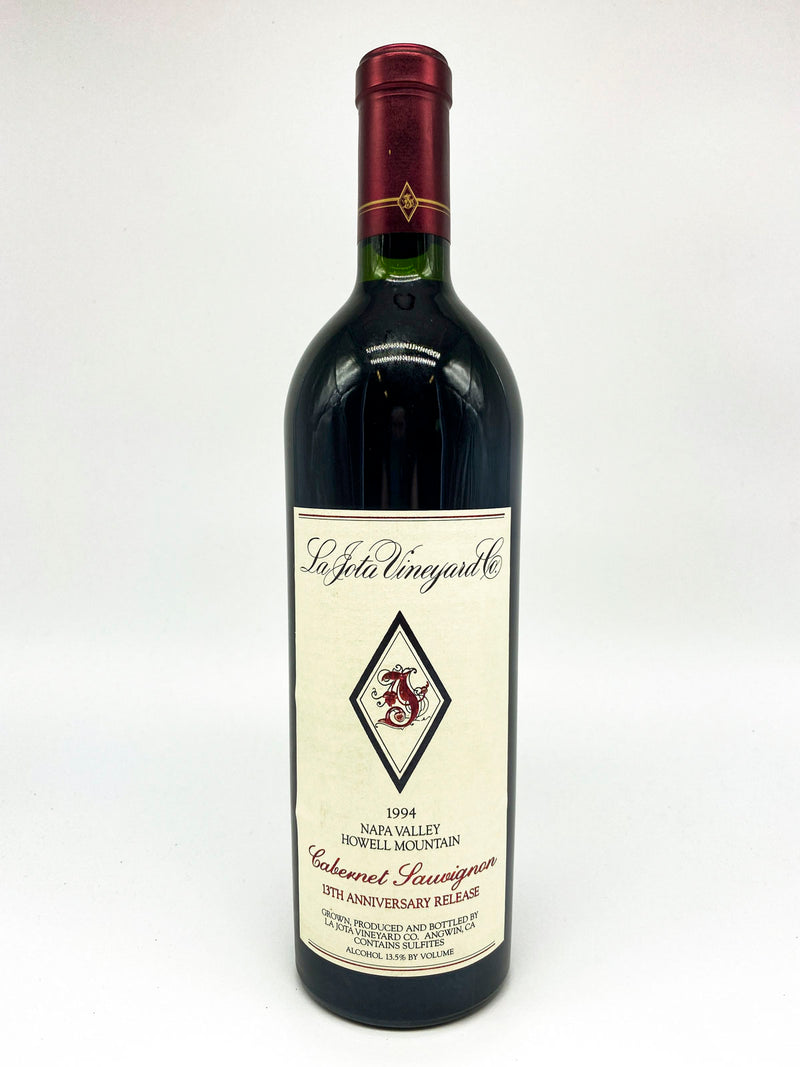 La Jota Howell Mountain Cabernet 13th Anniversary Release 1994 750mL