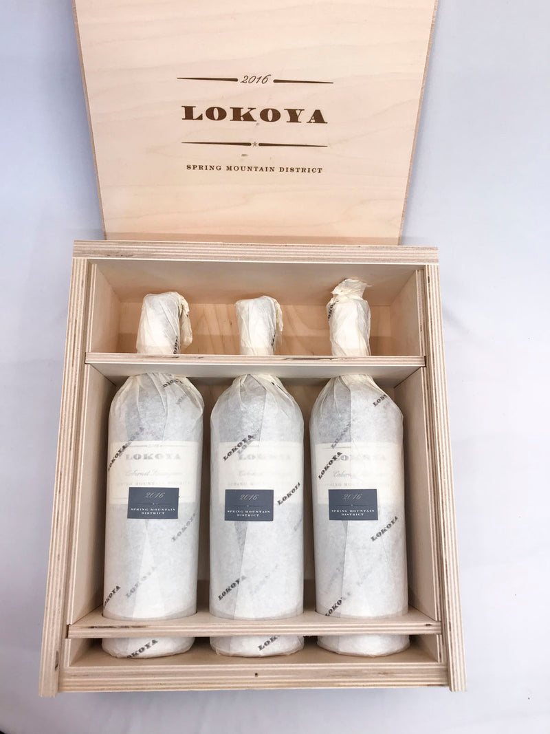Lokoya Spring Mountain 2016 3-Pack OWC 750mL