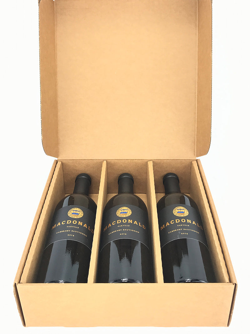 MacDonald Vinyards To-Kalon Cabernet 2014 3-Pack OC 750mL