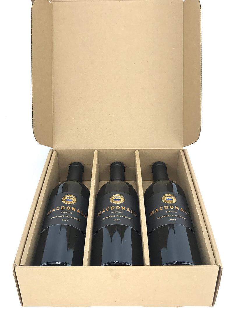 MacDonald Vinyards To-Kalon Cabernet 2017 3-Pack OC 750mL