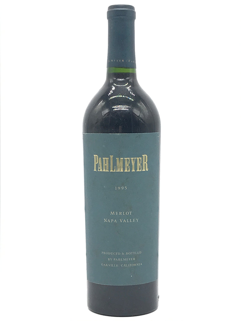 Pahlmeyer Merlot 1995 750mL