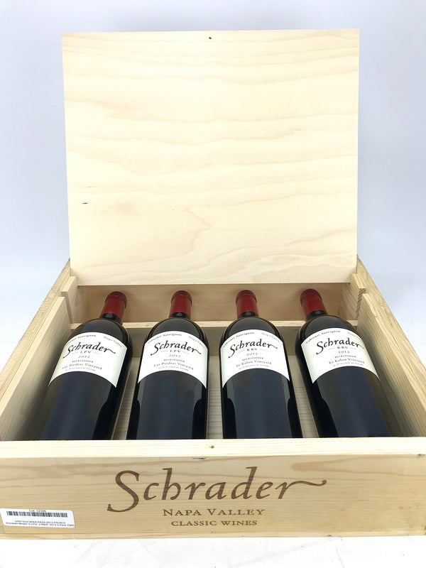 "Schrader Mixed ""2 LPV, 2 RBS"" 2012 4-Pack OWC 750mL"