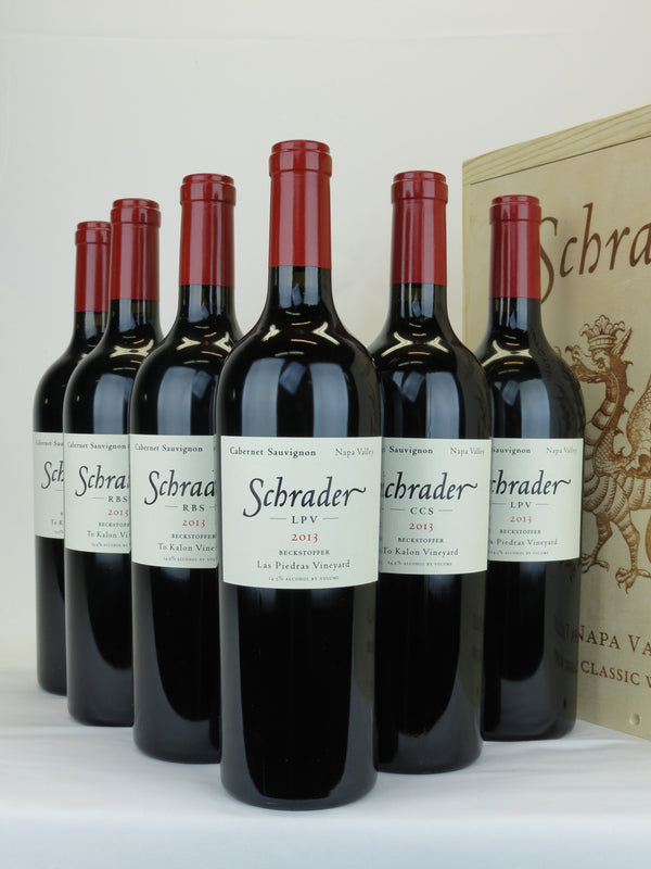 "Schrader Mixed Classic 2013 ""CCS,2 LPV,3 RBS"" 6-Pack OWC 750mL"