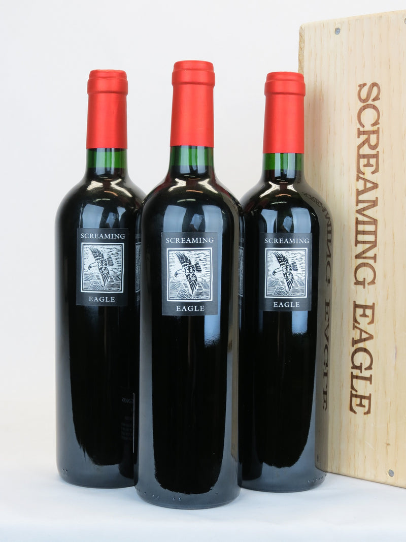 Screaming Eagle 2009 3-Pack OWC 750mL