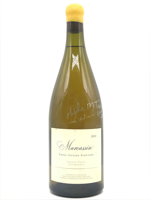 "Marcassin Three Sister Chardonnay ""Ultra Rare"" 2000 1.5L [Signed by Helen Turley]"