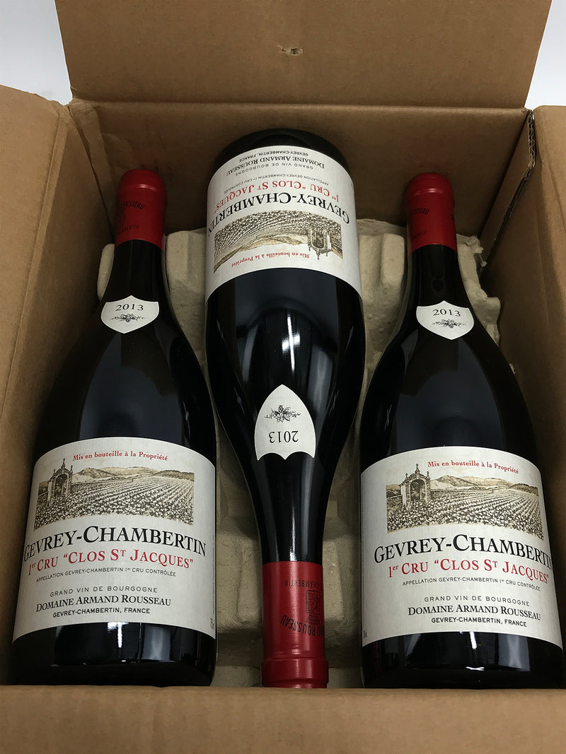 Armand Rousseau Clos St. Jacques 2013 6-Pack OC 750mL