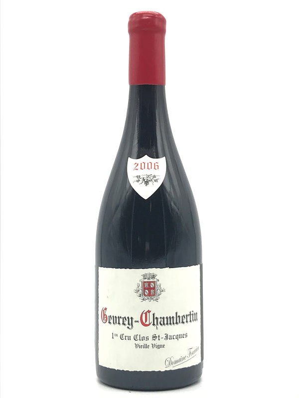 Fourrier Gevrey Chambertin Clos St. Jacques 2006 750mL [cracked capsule]