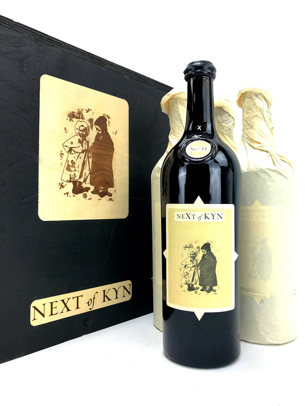 "Sine Qua Non -SQN- Next of Kyn Collector ""Cumulus Vineyard"" 2017 - 4-Pack OWC 750mL"