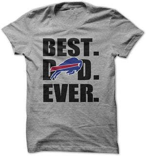 Best Dad Ever Father Day Shirt Buffalo Bills