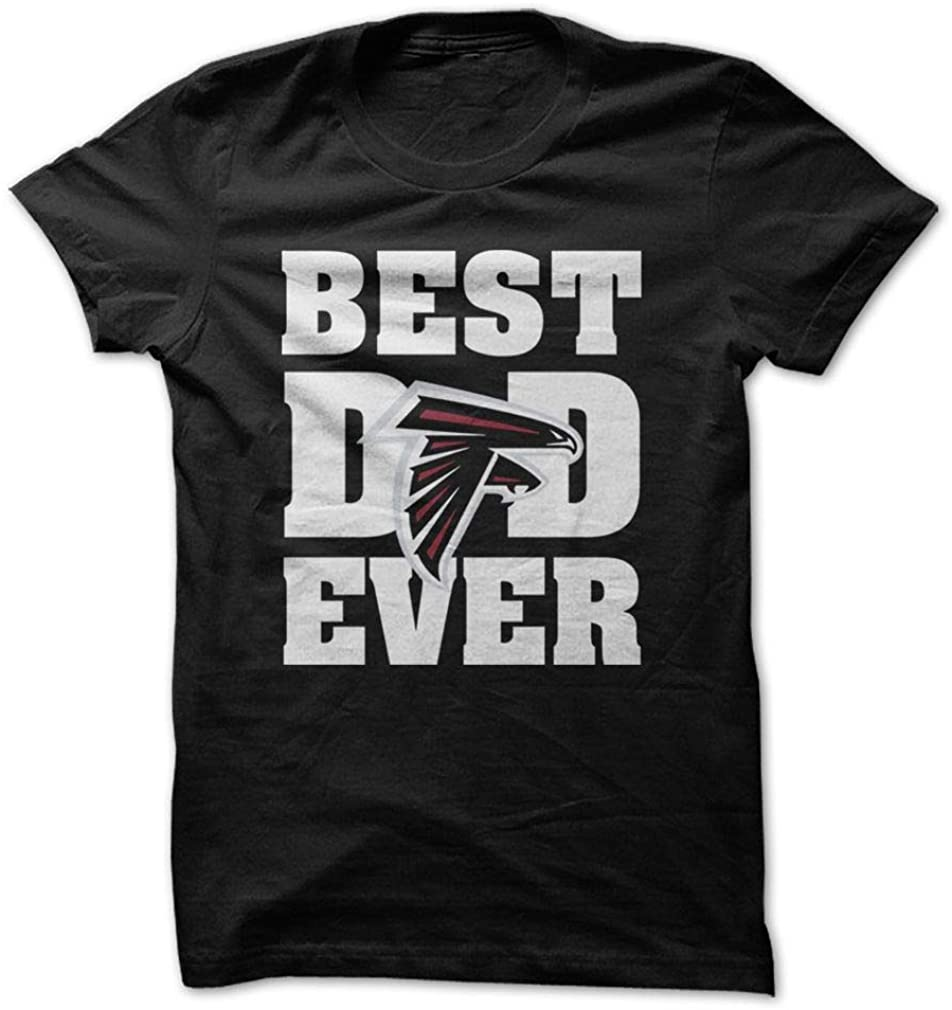Best Dad Ever Father Day Shirt Atlanta Falcons