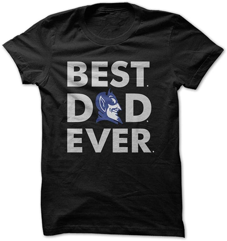 Best Dad Ever Father Day Shirt Duke Blue Devils