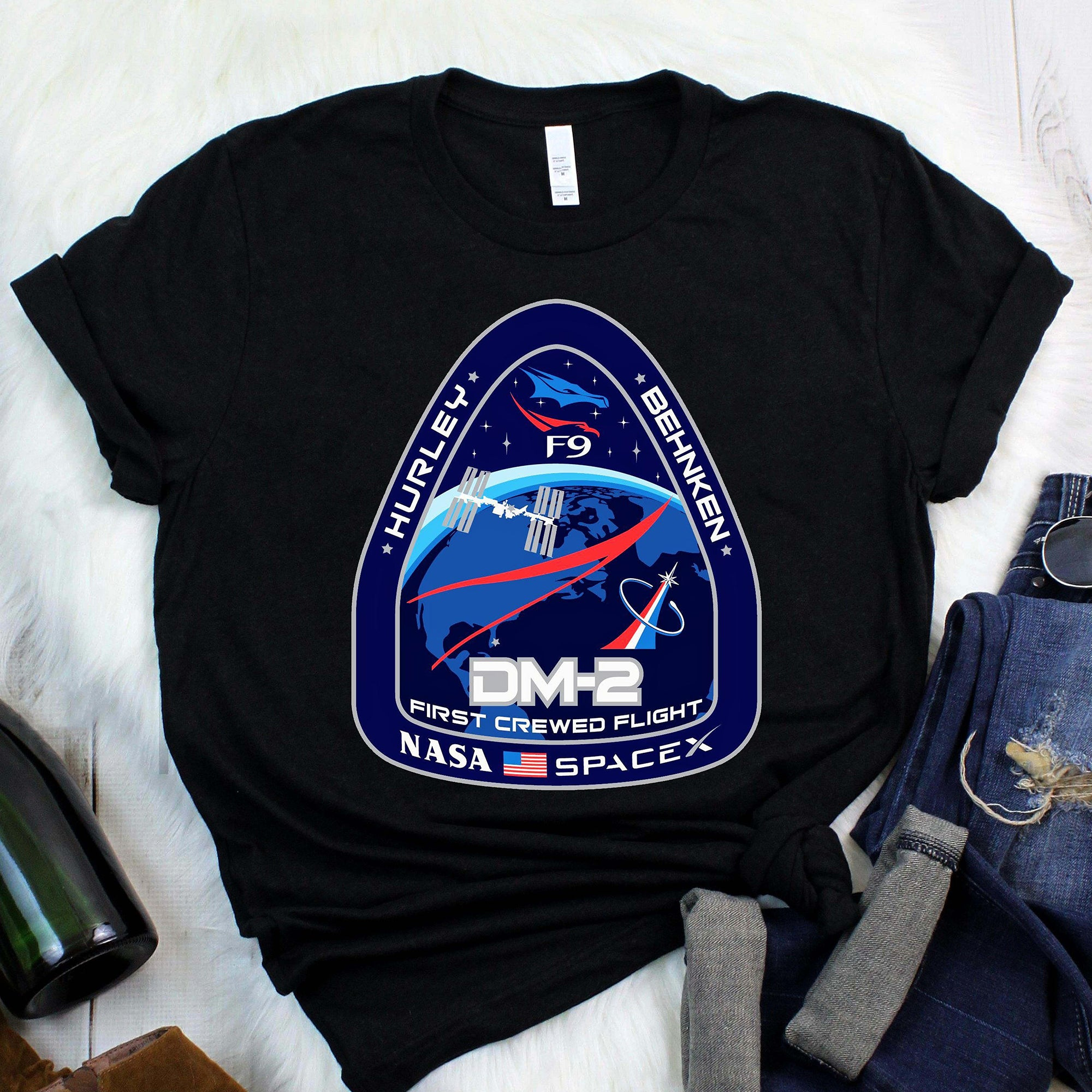 Crew Dragon Flight Demo 2 Elon Musk SpaceX Shirt