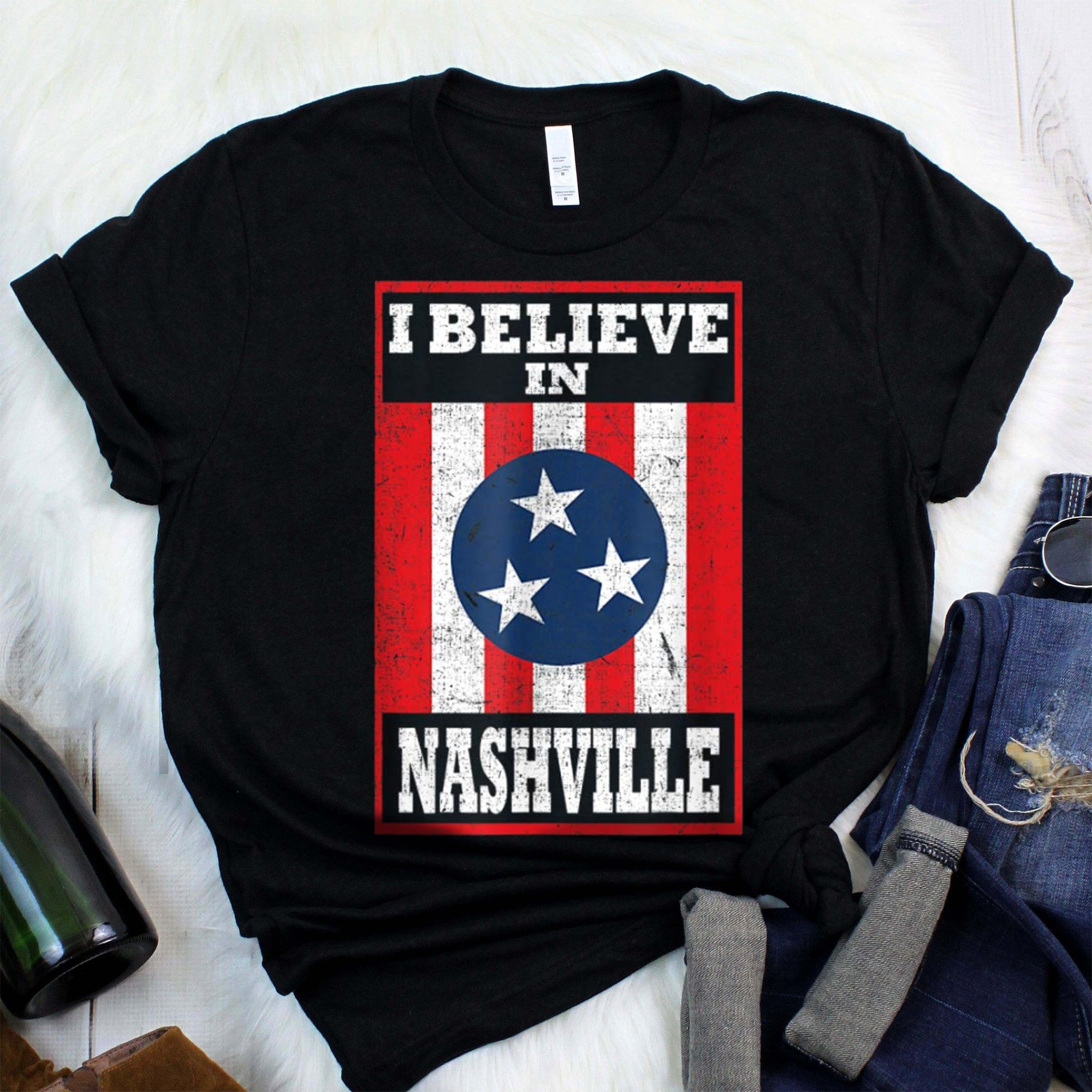 Tornado Nashville Strong I Believe In Tennessee T-Shirt