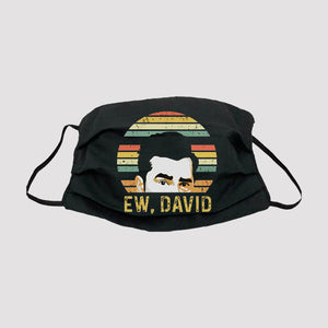 Ew David Black 100% Cotton