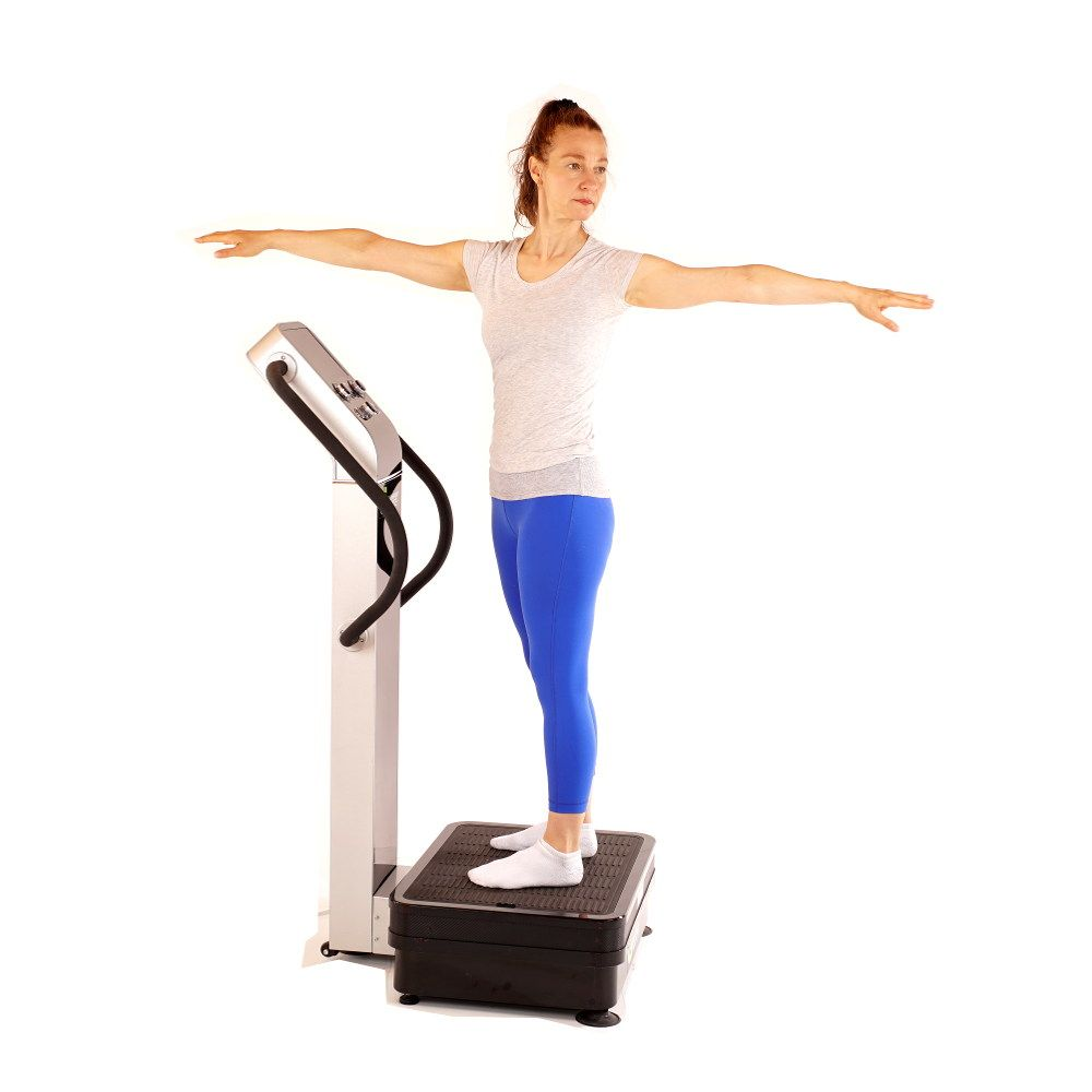Exercise Warm Up With Whole Body Vibration Machines