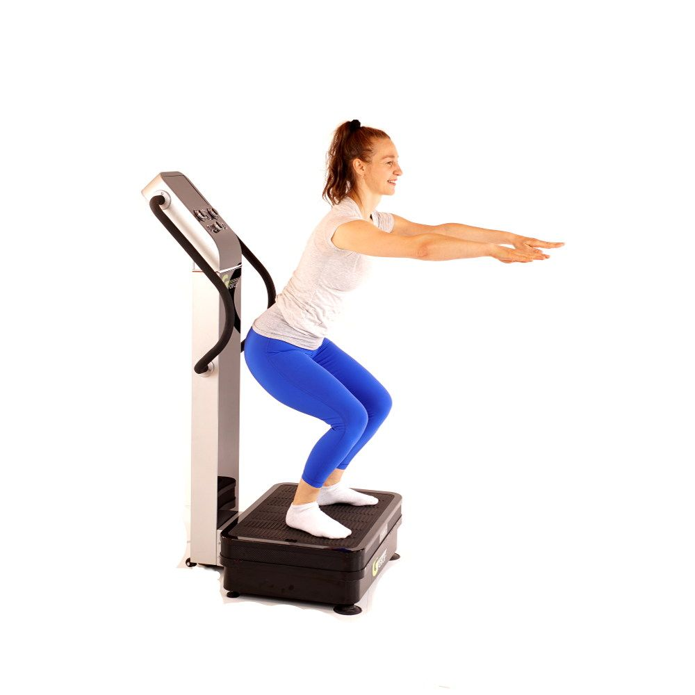 Simple Exercises You Can Do on Whole Body Vibration Machines