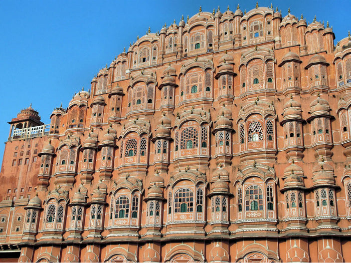 Why is Jaipur known as a pink city