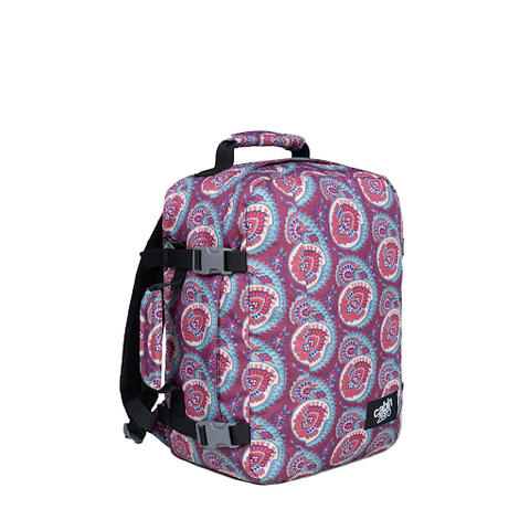 CabinZero Classic Backpack in Paisley is the best-selling basic rucksack for youngsters