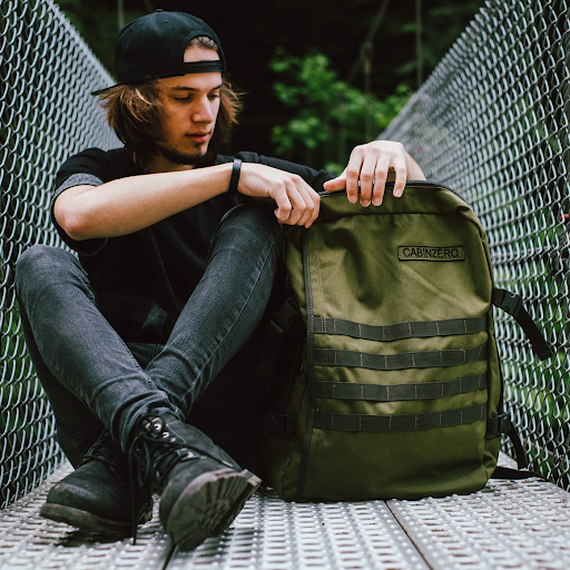CabinZero Military Travel Backpack
