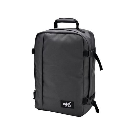 CabinZero Classic Backpack 28L in Original Grey is a must-have cool backpack for school