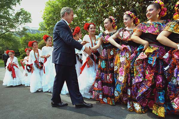 cinco de mayo president bush washington dc