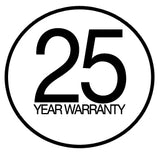 25 year warranty on all CABINZERO bags