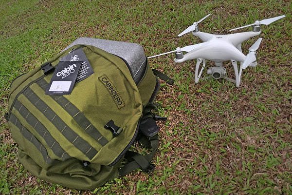 travel with a drone