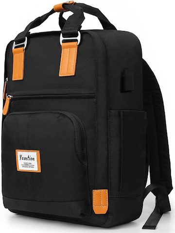 Yamtion Water-resistant School Backpack with USB Charging Port