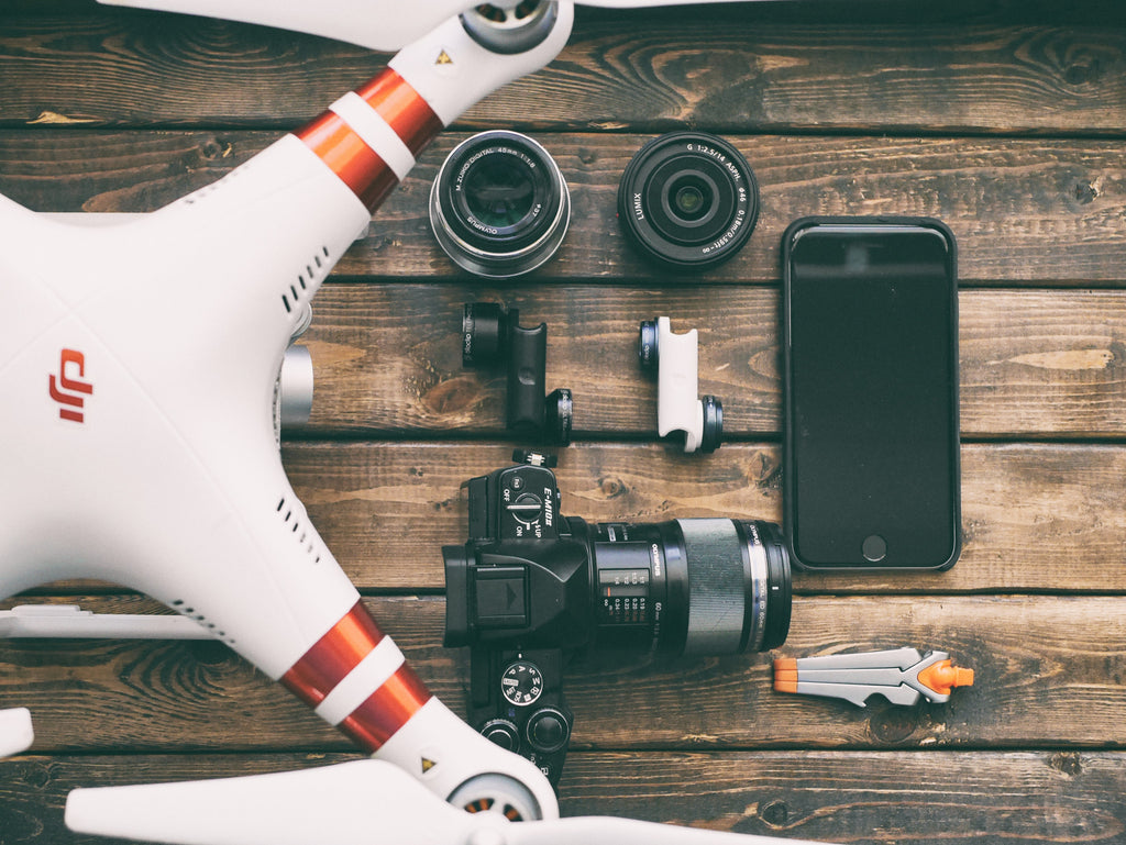 travel with drone