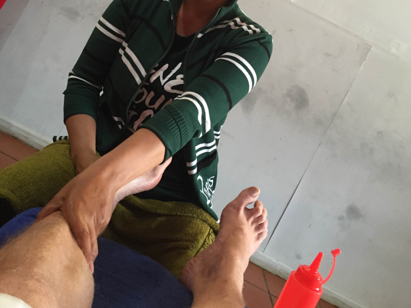 Foot massage Siem Reap CabinZero
