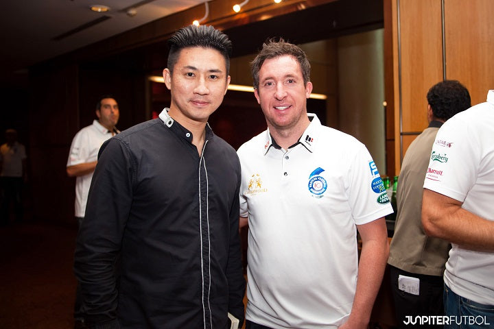 Robbie Fowler interview Liverpool Junpiter Football