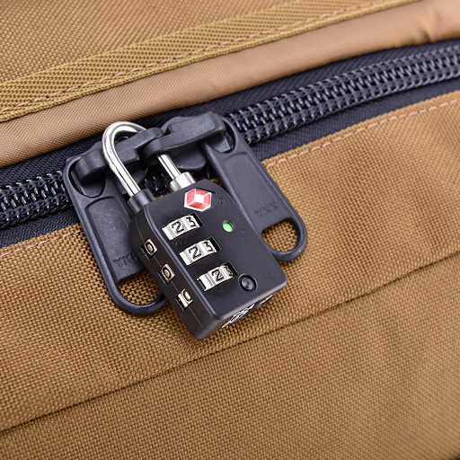 How to secure travel backpack?