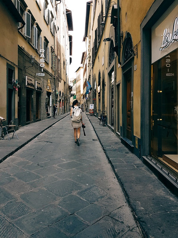 tour streets Florence Italy
