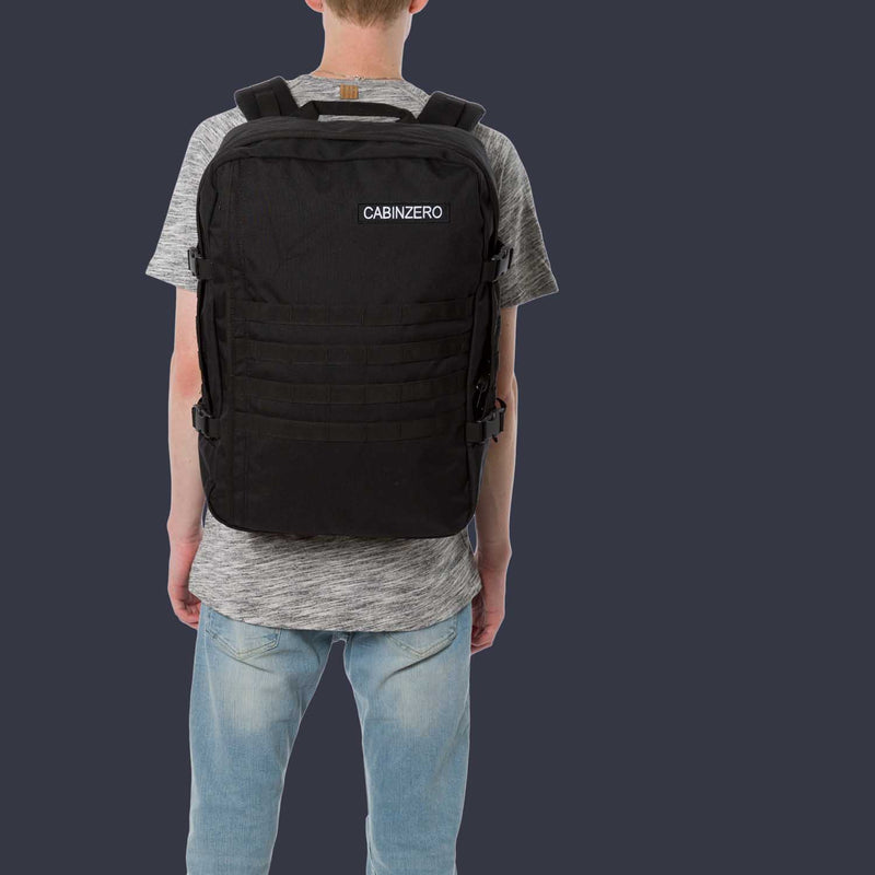 Military 44L Absolute Black