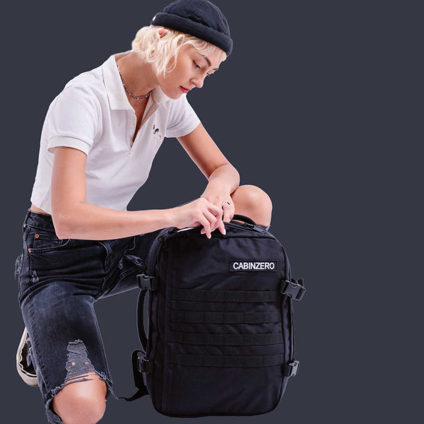 Military 28L Absolute Black